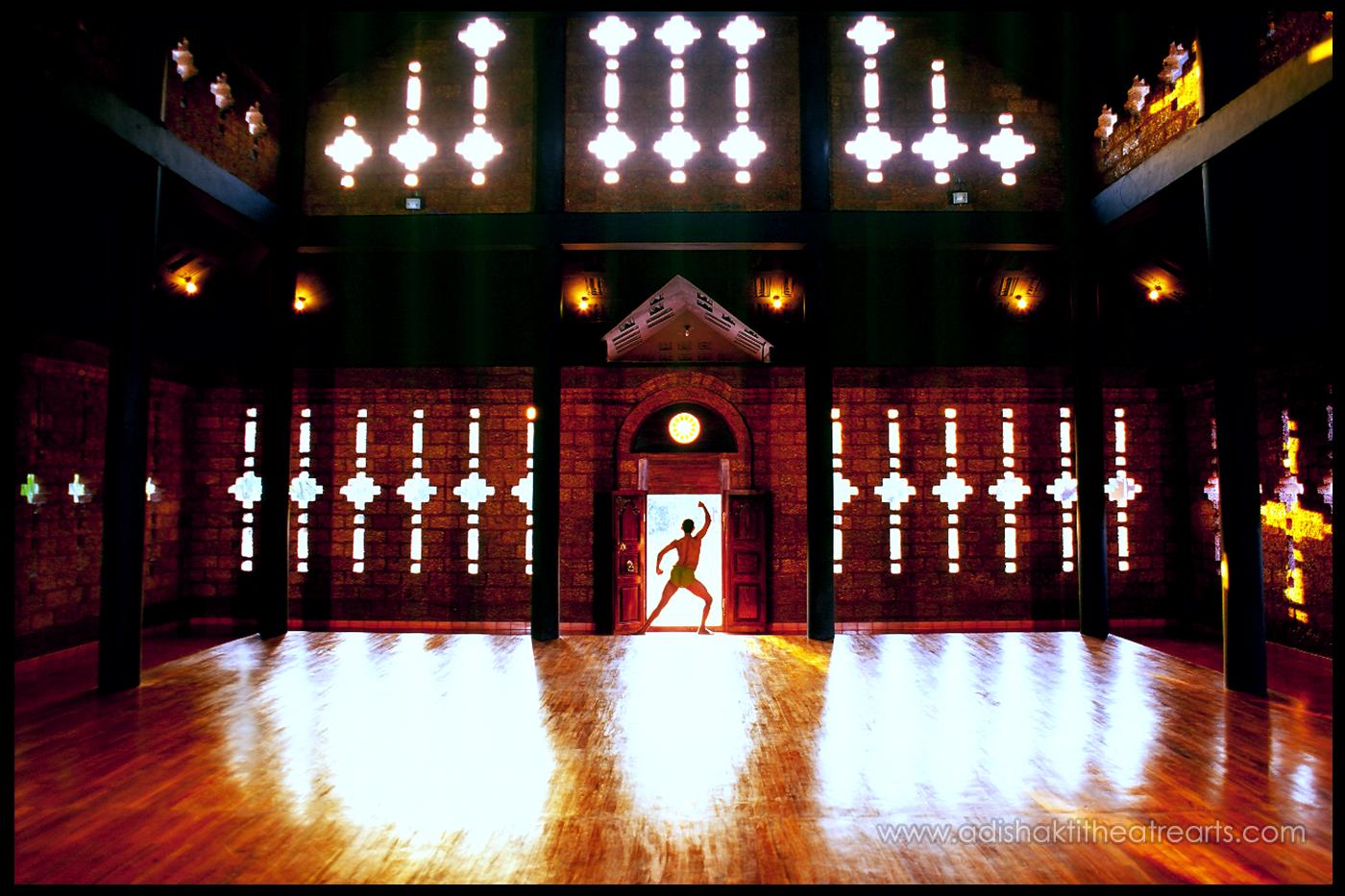 Adishakti Theatre Interior